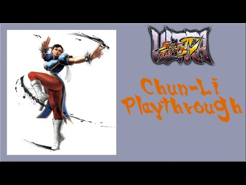 Ultra Street Fighter IV - Chun-Li Arcade Mode Playthrough (Oni Boss Battle)
