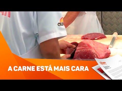 A carne está mais cara - TV SOROCABA/SBT