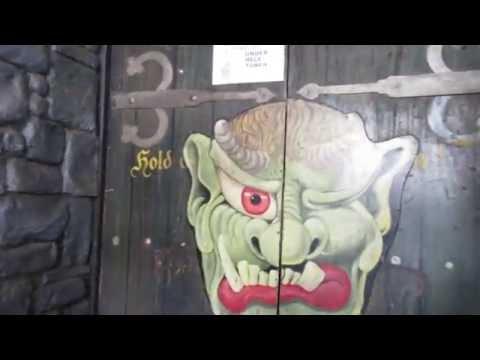 Spøgelsestoget Ghosthouse Bakken 2016 POV Onride
