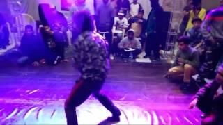 Sweat it out delhi vol2] semi final bboy jin vs bboy determine-d