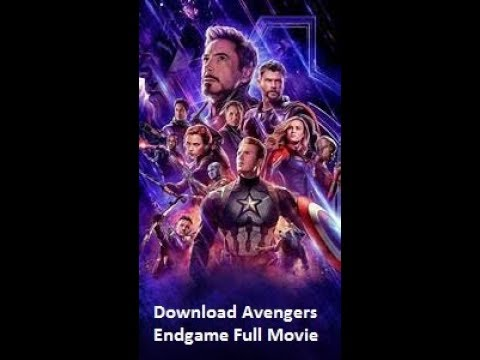 Download How To Download Avengers Endgame Full Movie