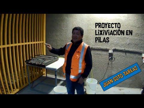 Proyecto Lixiviacion en Pilas