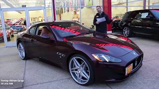 '14 Maserati GranTurismo Sport for sale with test drive, driving sounds, and walk through video