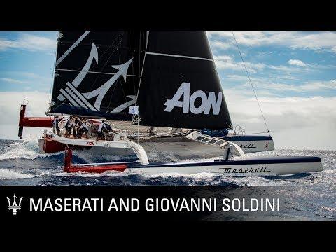 Maserati Multi 70 and Giovanni Soldini. The 11th RORC Caribbean 600