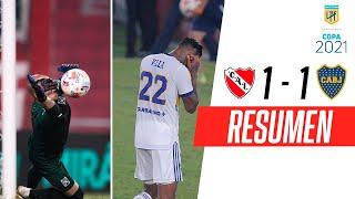 ¡FINAL INCREÍBLE Y EMPATE EN EL CLÁSICO! | Independiente 1-1 Boca | RESUMEN