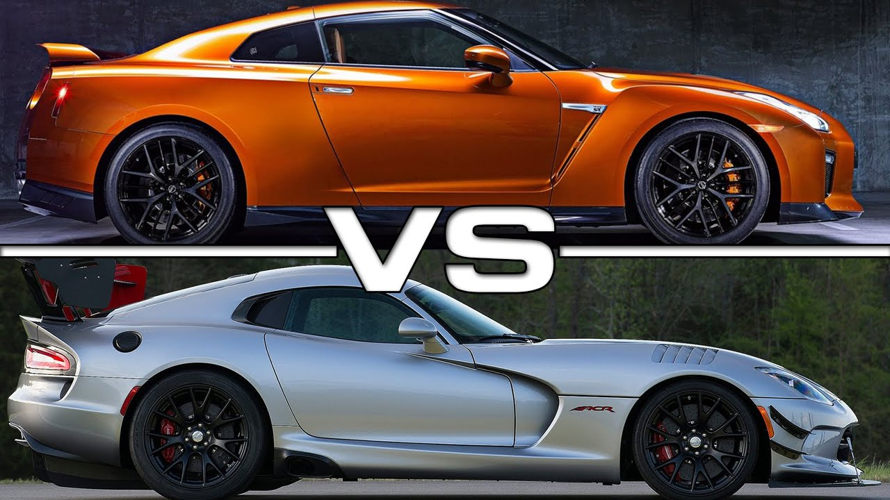 2017 Nissan Gt R Vs Dodge Viper Acr Youtube