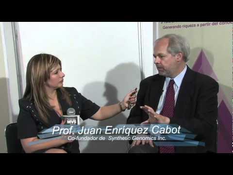 Alcanzando el Conocimiento, Entrev. al Prof. Juan Enríquez Cabot.