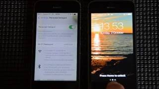 Iphone as Access point