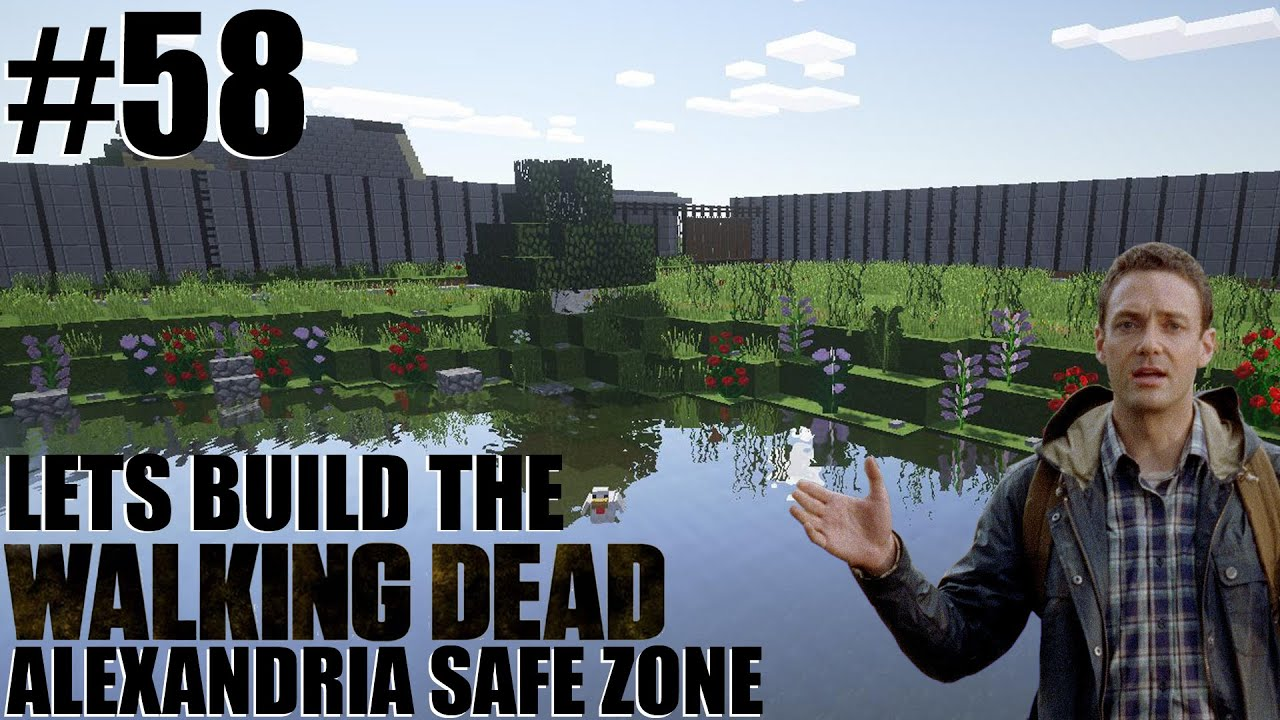 Minecraft lets build the walking dead alexandria safe zone minecraft lets build the walking dead alexandria safe zone lake 58 youtube sciox Gallery