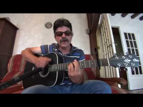 Quand j'étais chanteur MICHEL DELPECH cover guitare - YouTube