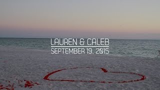 Lauren & Caleb - Beach Proposal