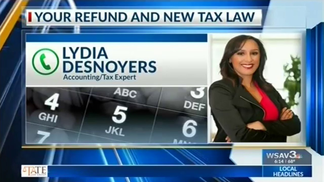 WSAV Interview | Lydia Covers 2019 Tax Laws