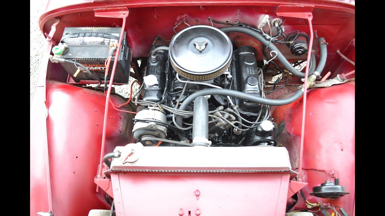 1969 jeep cj5 v6 new tires top seats clean [ 1280 x 720 Pixel ]