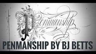 فن الخط من قبل BJ بيتس
