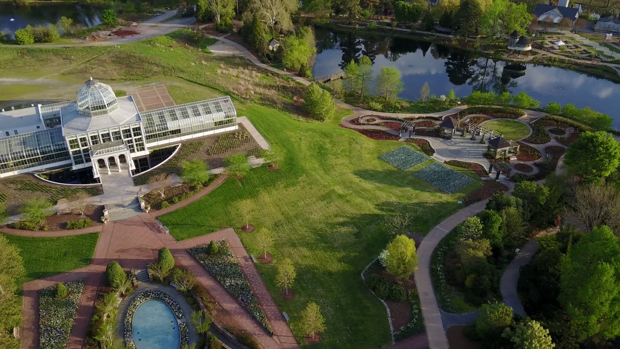 lewis ginter botanical garden aerial tour - Lewis Ginter Botanical Garden