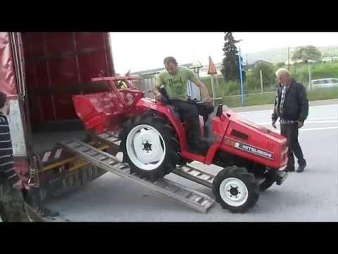 Βίντεο με τρακτέρ Mitsubishi MT20