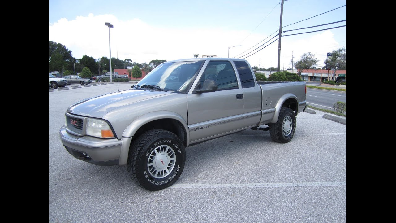 Sold 1998 Gmc Sonoma Sls Highrider 4x4 Xtracab Meticulous