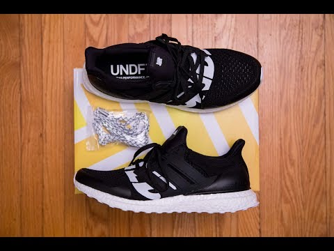 1.0 Pattern Returns?! || Adidas Ultra Boost 'Core Black' by UNDFTD (Undefeated) Review and On Feet