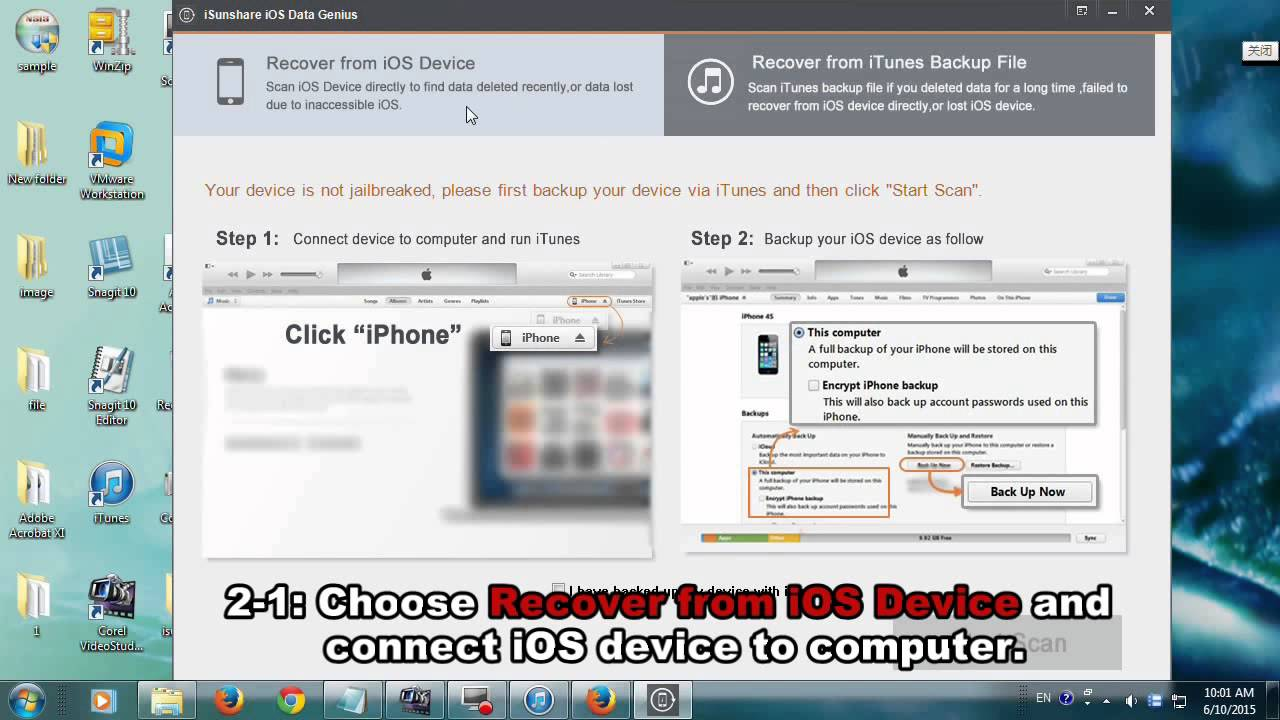 Recover Photos After Factory Reset Iphone