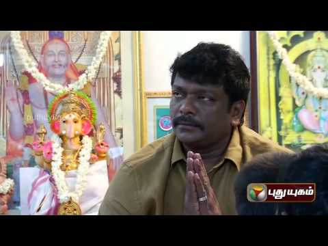 R. Parthiepan in Stars Day Out - Vinayagar Chaturthi Special (29/08/2014) - Part 1