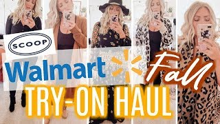 WALMART FALL TRY-ON | New SCOOP Collection