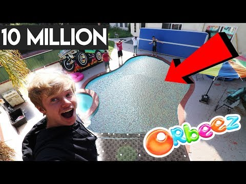Thumbnail: FILLED MY POOL WITH 10 MILLION ORBEEZ