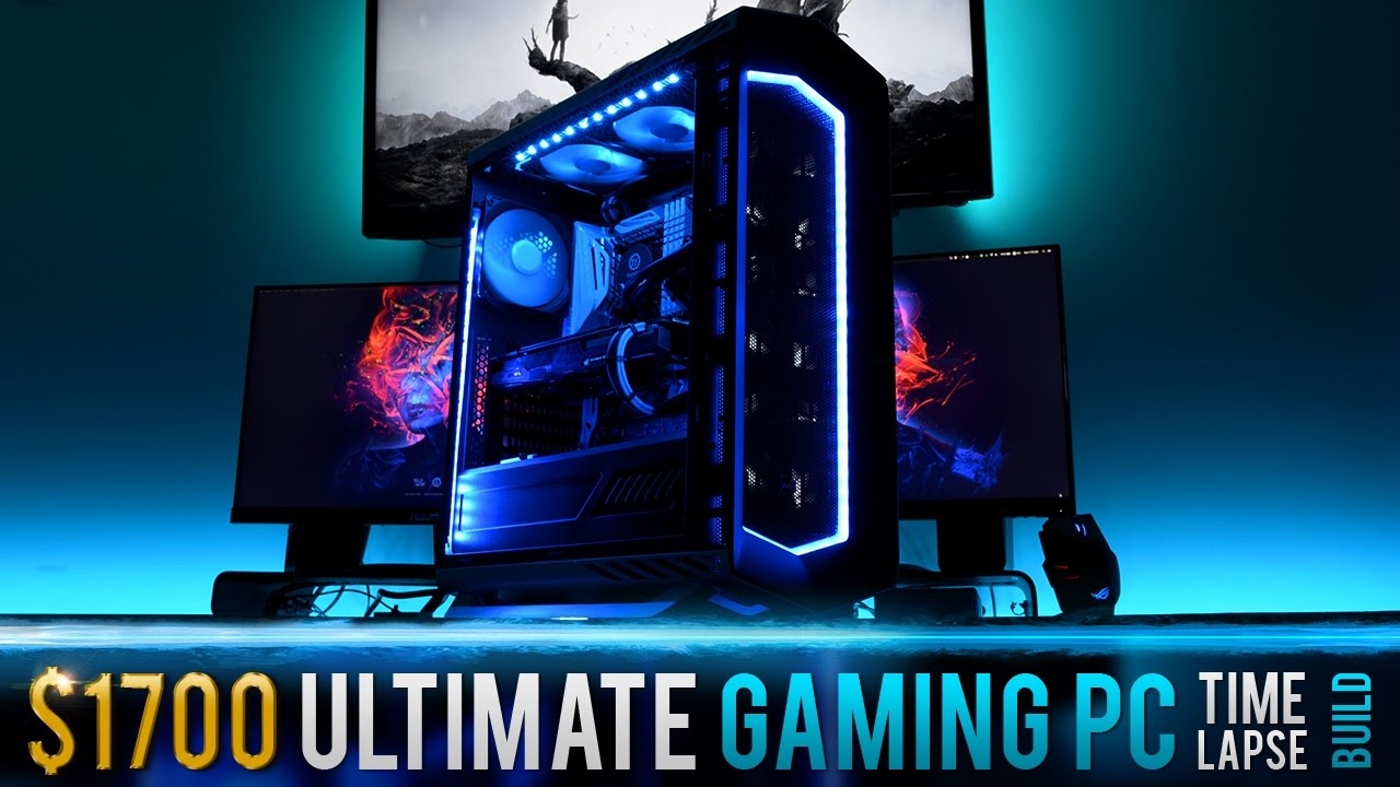 1700 Ultimate Gaming Pc Time Lapse Build Youtube