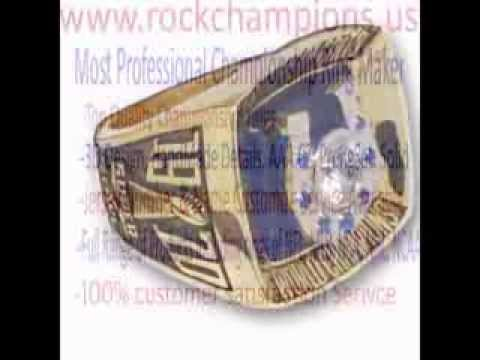 NFL 1970 Baltimore Colts Super Bowl V World Championship Ring, Custom Championship Ring
