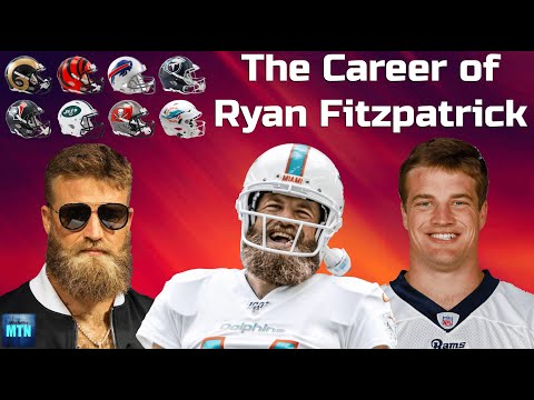The Career Of Ryan Fitzpatrick (From Simple Journeyman QB To Everyone's Favorite NFL Player)