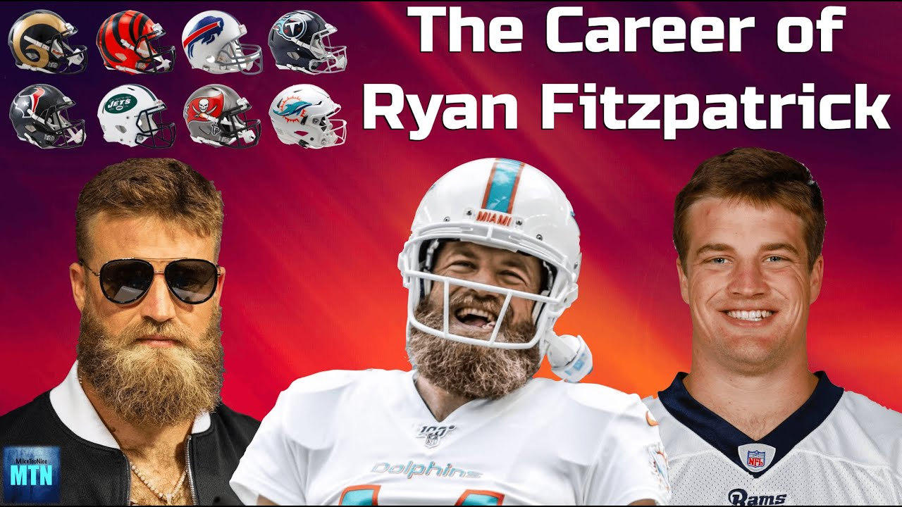 Download The Career Of Ryan Fitzpatrick (From Simple Journeyman QB To Everyone's Favorite NFL Player)