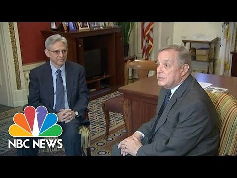 Durbin With Merrick Garland: 'I Hope That The Republicans Come To Their Senses' | NBC News