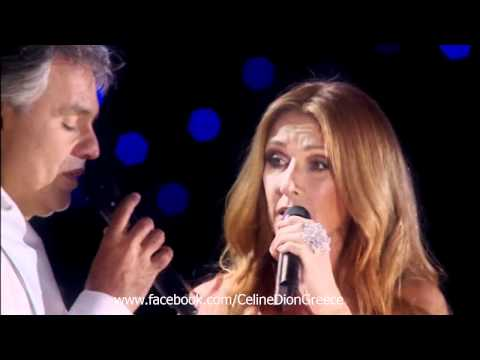 Celine Dion & Andrea Bocelli  The Prayer  @ Central Park NY, 2011 HD
