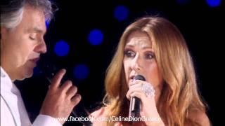 Celine Dion Andrea Bocelli The Prayer Live A Central Park Ny 2011 Hd