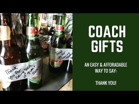 Coach Gifts | Easy & Affordable