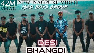 #Desi Bhandi# / new Nagpuri video song / Lakhan lok / MAD boys group