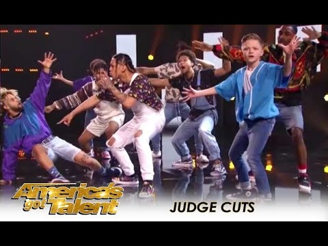 The Future Kingz: Self-Taught Dance Group From The Streets Of Chicago  | America's Got Talent 2018