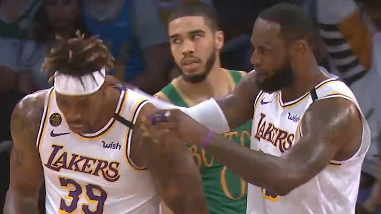 Los Angeles Lakers vs Boston Celtics 1st Half Highlights | February 23, 2019-20 NBA Season