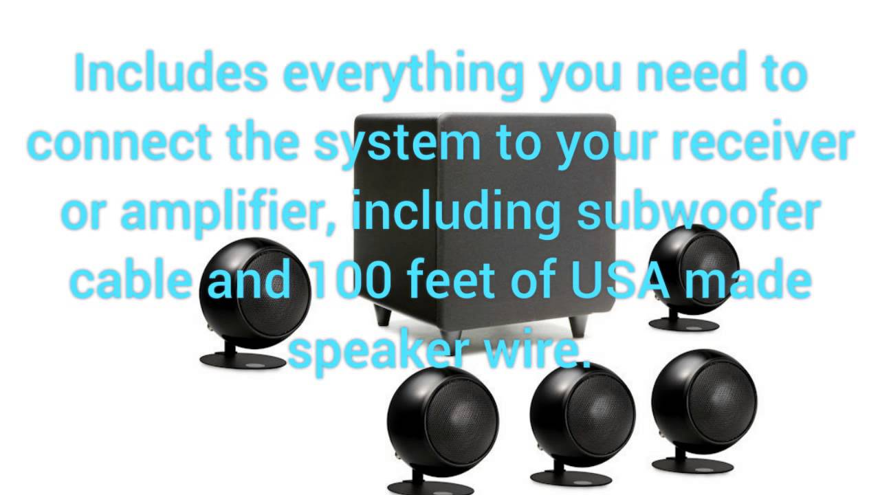 Orb Audio Mini 5 1 Home Theater Speaker System Review - YouTube