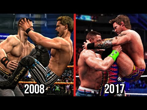 The Evolution Of Chris Jericho Codebreaker ( Smackdown vs RAW 2009 To WWE 2K18 )