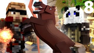 """FANTASY: Minecraft Roleplay #8 - """"STEALING A HORSE! & Mummy Tomb!"""" (WynnCraft)"""