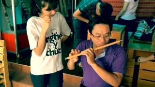 Một buổi truyền kỹ thuật tại Hội quán sáo trúc Đinh Linh | Bình Bản Vắn