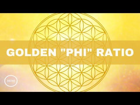 """Golden Ratio """"Phi"""" Frequency - Fibonacci Sequence (1.618 Hz) Monaural Beats"""