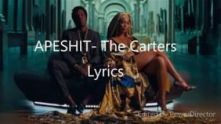 APESHIT  The Carters (Beyonce amp; JayZ) Lyrics