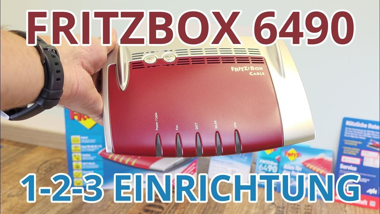 Fritzbox 6490 Cable Mesh