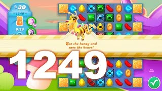 Candy Crush Soda Saga Level 1249 (No boosters)