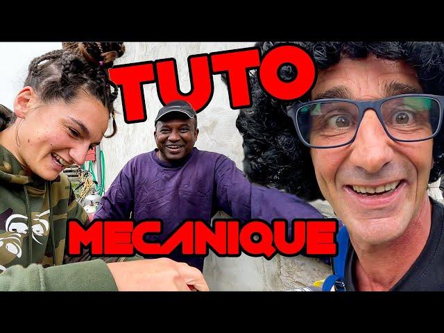 ON RÉPARE SA MOTO ET IL EST TROP HEUREUX ! TUTO MÉCANIQUE feat. Serge Nuques