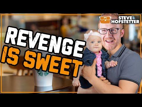 Revenge on a Jerk at Starbucks (Karma Vigilante) – Steve Hofstetter