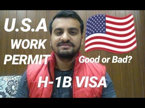 America Work Permit H-1B Visa Update