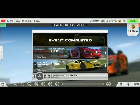 Real Racing 3: Project Impulse Ft Renault DeZir Concept: Stage 1.1 (Flashback Special Event)