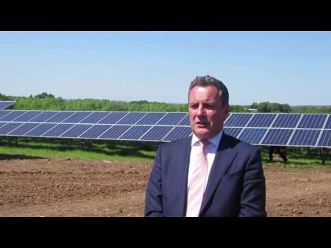 Ireland's first large-scale solar opens in Co Antrim